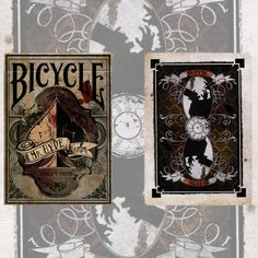 Mister Hyde Bicycle Playing Cards by The US Playing Card Company