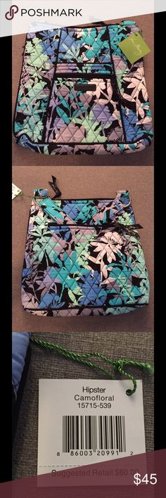Vera Bradley Camofloral Hipster Brand New NWT Vera Bradley Camofloral Hipster bag Brand New With Tags. From a pet-free/smoke-free home.  Thanks for looking! Vera Bradley Bags Crossbody Bags