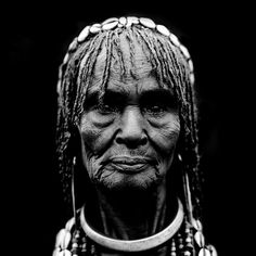 Ethiopia. Old hamar woman | Flickr by Eric Lafforgue