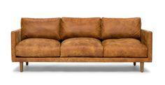 Nirvana Dakota Tan Sofa - Sofas - Article | Modern, Mid-Century and Scandinavian Furniture