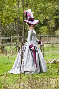 """Gorgeous! And that hat!18thC inspired costumes from the """"Gustavian"""" era 1768-1792 . (c) Duran Textiles. Swedish 18th century textiles reconstructed in India then costumes fashioned in Sweden."""