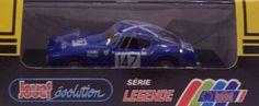 Jouef 1033 1961 Ferrari 250 GT #147 - 1961 Tour DeFrance - Blue with White Details - Legend Series - 1:43 Scale Diecast