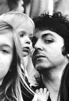 Paul, Stella and Heather Mccartney photographed by Linda