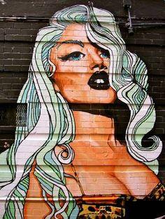 great hair via graffiti