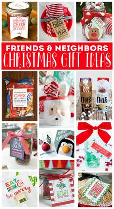 Christmas Gift Ideas For Friends And Neighbors Neighbor Gifts