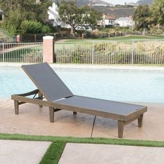 Noble House Giancarlo Teak 2 Piece Wood Outdoor Chaise