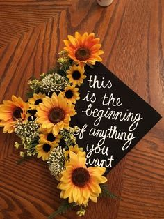 Struggling to figure out how to decorate a graduation cap? Get some inspiration from one of these clever DIY graduation cap ideas in These high school and college graduation cap decorations won't disappoint! Graduation Cap Toppers, Graduation Cap Designs, Graduation Cap Decoration, Graduation Diy, High School Graduation, Graduation Pictures, Graduate School, Decorated Graduation Caps, Graduation Flowers