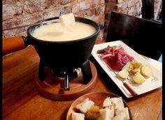 The Perfect Valentine's Day Menu -   Appetizer: Swiss Cheese Fondue