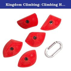 "Kingdom Climbing: Climbing Holds, ""Imprint"" - Small. Slopey edges that play well around aretes and slab to slightly overhung walls."