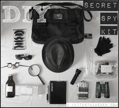 A DIY Secret Spy Kit