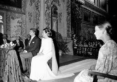 Diana de Polignac wedding.