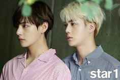 Jin & V for STAR1 Magazine
