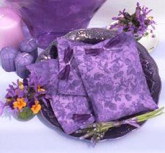 Purple sachets make wonderful purple gifts!