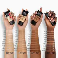 MAKE UP FOR EVER Matte Velvet Skin Full Coverage Foundation Gray Things gray color with a tinge of brown crossword Full Coverage Foundation, Matte Foundation, Loreal Infallible Foundation, Skin Makeup, Beauty Makeup, Makeup Goals, Flawless Makeup, Diy Beauty, Makeup Order