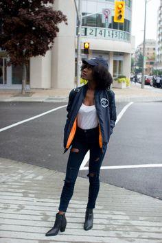 bomber jacket fall fashion
