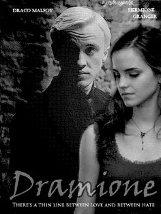 Dramione There's a thin line between love and between hate - dramione Photo