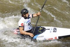 David LLorente - Canoe Slalom - Mundial Junior/Sub23 2015