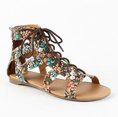Lace up sandals very cute