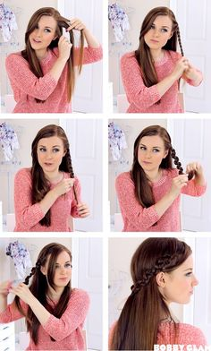 Snake Braid Hair Tutorial BobbyGlam | Shes Beautiful