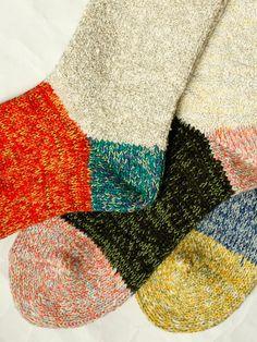 Kapital 2 tone socks (¥2,678)