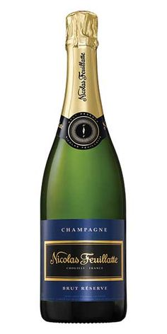 Champagne Nicolas Feuillatte Brut Reserve is clean, elegant and complex on the palate with a delicate, fresh finish. This champagne pairs well with chicken, salmon, shellfish, sushi, cheeses, fruit and desserts. - Winemaker's Notes