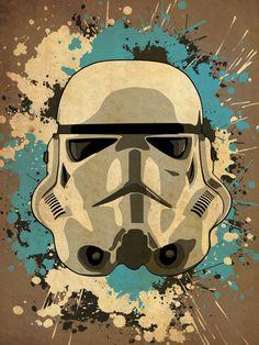 Star Wars Storm Trooper Poster