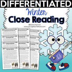 Winter Close Reading Passages, Text-Dependent Questions, Graphic Organizers, Posters, and More (Differentiated) I created this resource to help students read complex texts independently and for a specific purpose. Close Reading Strategies, Reading Resources, What Is Close Reading, Text Dependent Questions, Espanto, Learning Targets, Reading Comprehension Passages, Student Reading, Survival Skills