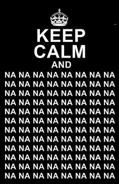 The Beatles poster - Keep Calm And Na Na Na Na Na Na Na ...