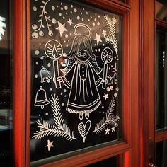 Mein neuer Freund, der Kreidemarker ! #chalkboardpaint #eswirdweihnachtlich #chalkmarker