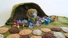 Frozen Trolls playscape play mat