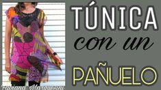 Cómo hacer una TÚNICA CON UN PAÑUELO - Fabiana Marquesini - 32