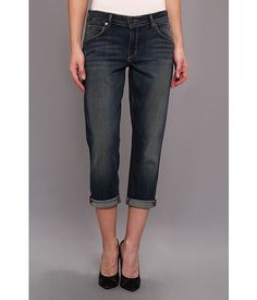 CJ by Cookie Johnson CJ by Cookie Johnson  Rejoice Slouchy Boyfriend Crop in Tops Tops Womens Jeans for 94.99 at Im in!