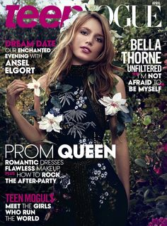 Bella Thorne Achieves Dream Of Being on 'Teen Vogue' - See Her Cover Here!: Photo How gorgeous is the April 2015 cover of Teen Vogue with Bella Thorne? Vogue Magazine Covers, Vogue Covers, Magazine Photos, Issue Magazine, Magazine Art, Teen Vogue, Bella Thorne Shows, Emma Summerton, New Teen