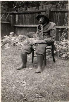 Vintage anthropomorphism.