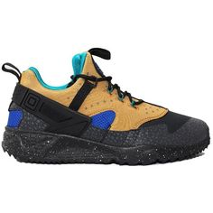 Nike Sportswear - air Huarache Utility Sneakers (265 BRL) ❤ liked on Polyvore featuring men's fashion, men's shoes, men's sneakers, multicolor, colorful mens shoes, mens shoes, mens sneakers, mens leopard print sneakers and mens running shoes
