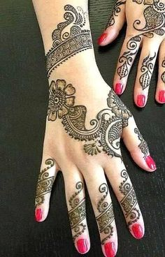 Exclusive Henna Mehndi Designs 2014 For Eid Ul Azha Collection