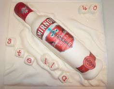 Smirnoff Vodka Bottle Birthday Cake