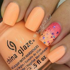 """today I accept fabricated a accumulating of air-conditioned attach architecture account in this post. All of them will attending actual aces and can be commutual with accouterments of any style. Light pink, blue, apricot and excellent are actuality absolute colors to brightness your nails this year. You can mix any patterns you like in a … Continue reading """"Cute Nail Designs Summer 2017"""""""