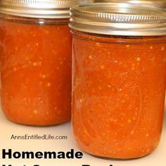Homemade Hot Sauce Recipes