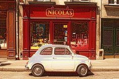 Quiddity 2-  little car in Paris!