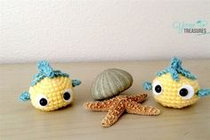 Flounder Ball Free Pattern