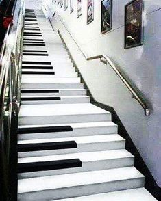 Escalera musical