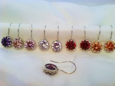 A personal favorite from my Etsy shop https://www.etsy.com/listing/114887005/sterling-silver-35-carat-cz-earrings
