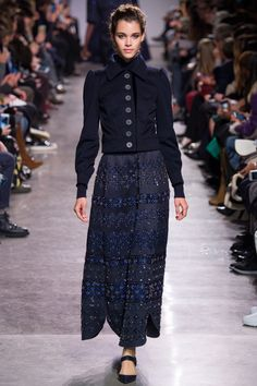 Zac Posen Fall 2016 Ready-to-Wear Fashion Show - Pauline Hoarau