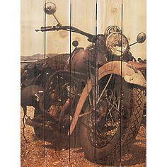 Classic Ride Cedar Wall Art