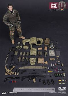 KSK Kommando Spezialkrafte Assaulter 1/6 Scale Figure by Damtoys - Click Image to Close