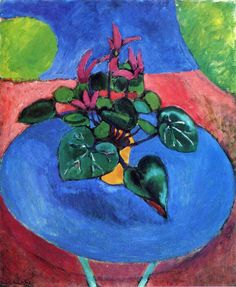 """""""Pintura de Flores"""" 1911-1912 Henri Matisse Óleo sobre tela 73 x 60 cm  https://www.facebook.com/media/set/?set=a.200344660124767.1073741829.122558571236710&type=1&l=e192c18bc4"""