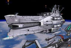 edf battleship | In-Progress: EDF Super-Battleship Electra - Resin Illuminati