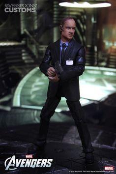 Agent Coulson (Avengers) Custom Action Figure