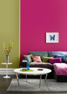 Alwyn S Alternative Colour Wall Still An Impressive Mix Of Colours Color 2017 Room